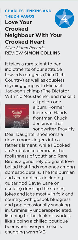 LYCNWYCH Album Review ~ The West Australian, 12/10/2012